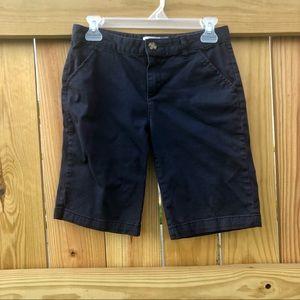 Old Navy Shorts Girls Sz. 16 Navy Blue
